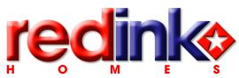 Redink Homes  logo